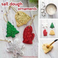 Best Salt Dough Recipe Christmas Ornaments