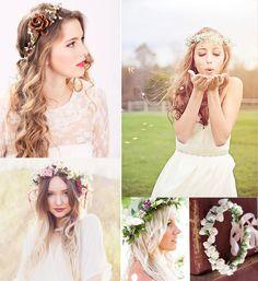 2014 Boho Wedding Hair Styles Ideas long loose boho hair styles for summer weddings