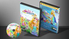 Barbie Dreamtopia - Cabelos Mágicos - Capa | VITRINE - Galeria De Capas - Designer Covers Custom | Capas & Labels Customizados