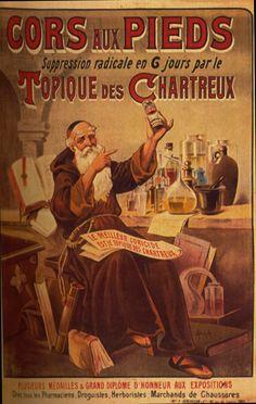 1895-1905  Auzolle  Topique des Chartreux  160x120 cm