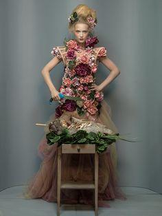 Desertfish Magazine  editorial hair&makeup: Jojo Dantespadua photographer: Peter Richweizs