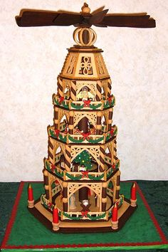 """""""German Christmas Pyramid"""" by Barb A. (Most Creative)"""