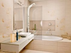 Azali Bathroom Collections, Alcove, Bathroom Lighting, Bathtub, Mirror, House, Furniture, Design, Home Decor