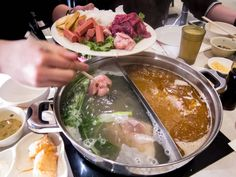 Chinese style hotpot, Hotpot on Yonge restaurant in North York, Toronto North York, Hot Pot, Canada Travel, Chinese Style, Storage Solutions, Compact, Toronto, Restaurant, Posts