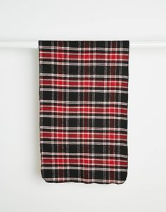Reclaimed+Vintage+Check+Blanket+Scarf