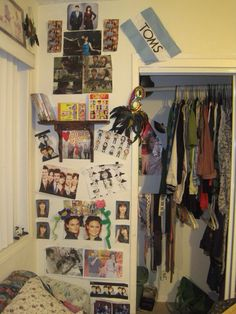 Ah, my part of the room in the 7th grade. Nostalgia.