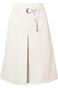 Bottega Veneta | Belted leather skirt | NET-A-PORTER.COM