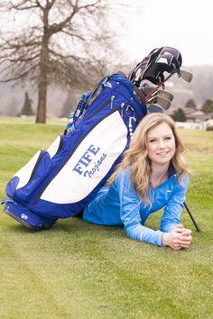 Senior golf portraits
