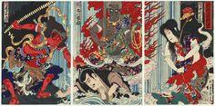 Japanese print artwork