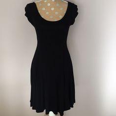"NWOT✨Simple Black Dress Basic black dress. Never worn. Approx 34"" length. 16"" across bust. Dresses"