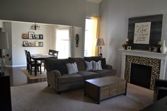 Living Room and Dining Room Colors/Decor