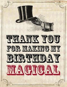 Hostess with the Mostess® - Vintage Magic Birthday