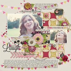 By LivyBug - Credits: FOLLOW YOUR HEART by ForeverJoy Designs, Fuss Free: A Little Bit Punchy by Fiddle-Dee-Dee Designs, Fonts: The Wood, Lavanderia
