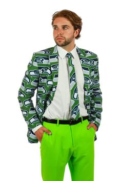 Pre-Order - The Seattle Seahawks Suit Jacket - Delivery by October ...