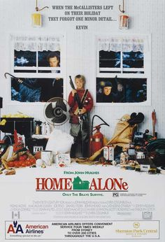 Home Alone // I could watch this movie on repeat and not get sick of it. One of the best holiday movies!
