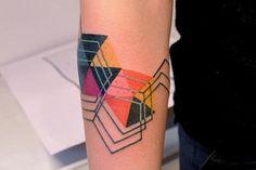 marcin aleksander surowiec | geometric #tattoo