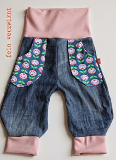 Kinderhose aus alter Jeans / Toddler's pants made from old pair of jeans / Upcycling