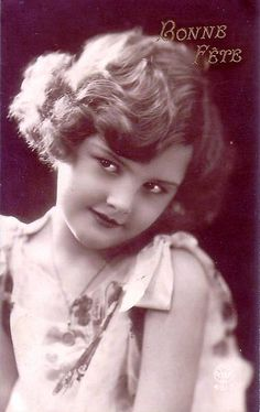 Vintage Postcard ~ Art Deco Girl | Flickr - Photo Sharing!