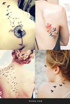 Delicate Floral Tattoos That Will Fascinate All The Flower Lovers P Tattoo, Bff Tattoos, Family Tattoos, Mini Tattoos, Body Art Tattoos, Small Tattoos, Cool Tattoos, Tatoos, Back Tattoo Women