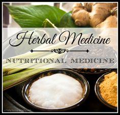 awesome Herbal Medicine vs. Nutritional Medicine