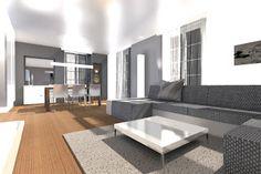 Interior - Living room in Felben - Wellhausen, Switzerland