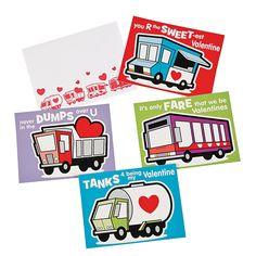 Truck+Valentine+Cards+-+m.orientaltrading.com