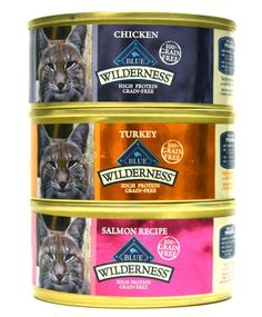 Blue Buffalo Wilderness Grain-Free Wet Cat Food Variety Box - 3 Flavors (Salmon, Turkey, and Chicken) - 12 (5.5 Ounce) Cans - 4 of Each Flavor by BLUE Wilderness *** To view further for this item, visit the image link. (This is an affiliate link and I receive a commission for the sales)