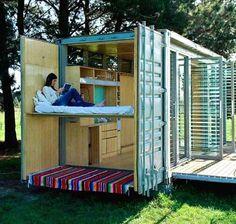 Port-A-Bach: A Container Getaway | gardenpins.comgardenpins.com