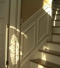 pictures of stairs | STAIRS WITH APPLIED PANELS