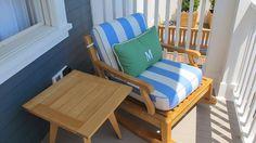Nautical by Nature | Coastal Living Showhouse Coronado: Backyard, Porch, Pool