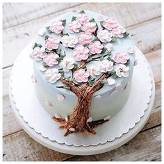 #spring #cake #flower #sweets
