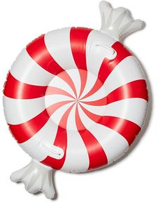 Big Mouth Inc. Peppermint Twist Snow Tube Home - Bloomingdale's Christmas On A Budget, Christmas In July, Summer Pool, Summer Fun, Pool Fun, Water Floaties, Cool Pool Floats, Inflatable Furniture, Pool Floats