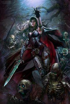 underground fantasy for your pleasure Fantasy Girl, Fantasy Warrior, Fantasy Art Women, Fantasy Kunst, Dark Fantasy Art, Fantasy Rpg, Medieval Fantasy, Fantasy Artwork, Warrior Angel
