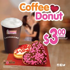 Be my valentine.	#donutofthemonth