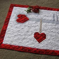 laugh yourself into Stitches*: Key to my Scrappy Heart.  Pattern and quilting by Karen Walker.