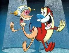 Rin and stimpy