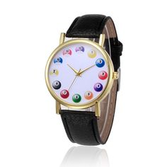 Feitong Mens Women Casual Watch Fashion PU Leather Band Analog Alloy Quartz Wrist Watch relogios femininos hombre Clock 2017 New