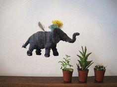 flying elephant by astulabee, via Flickr