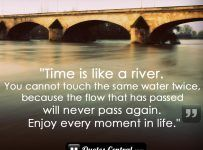 Time-is-like-a-river--you-cannot-touch-the-same