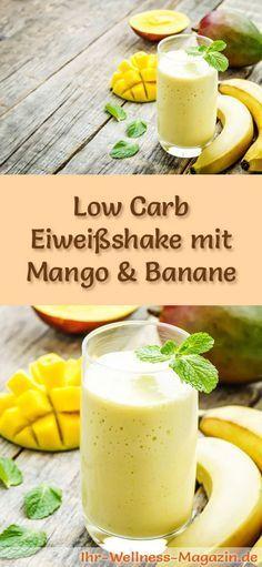 Protein shake with mango and banana - low carb protein diet .- Protein shake with mango and banana – low carb protein diet recipe – Lecker! -… Protein shake with mango and banana – low carb protein diet recipe – Lecker! Low Carb Shakes, Best Protein Shakes, Protein Shake Recipes, Low Carb Protein, Low Carb Diet, Paleo Dessert, Fruit Juice Recipes, Dieta Paleo, Banana