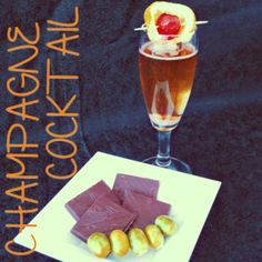 """Cocktail Alcolico """" Champagne Cocktail"""" : Ingredienti:1 zolletta di zucchero,3 gocce di angostura bitter,cognac (3/4 oz ),top Champagne  Per la ricetta completa visita: www.planetone.it/champagne-cocktailpina-especial/"""