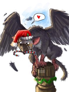 Holiday Trico!  by Pen-Mark.deviantart.com on @DeviantArt