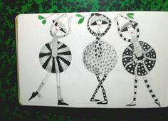 Balarina doodles