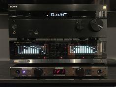 Sansui SE-99 and Sony STR-DN860