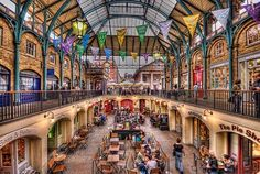 Covent Garden, London, i love how quirky covent garden is, always something exciting going on