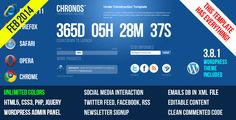 Chronos Under Construction Template + WP Theme . Chronos has features such as High Resolution: Yes, Widget Ready: No, Compatible Browsers: IE9, IE10, IE11, Firefox, Safari, Opera, Chrome, Compatible With: Bootstrap 3.x