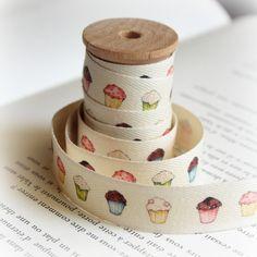 Cupcake cotton tape