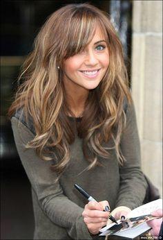 Light Golden Brown Hair Dye On Dark Brown Hair& voluminous ...