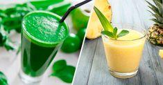 7 receitas simples de Sucos Detox para emagrecer mais rápido - Tua...
