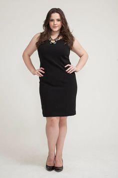 Vestido Milena - Maria Doida Moda Plus Size  http://www.mariadoidamoda.com.br/